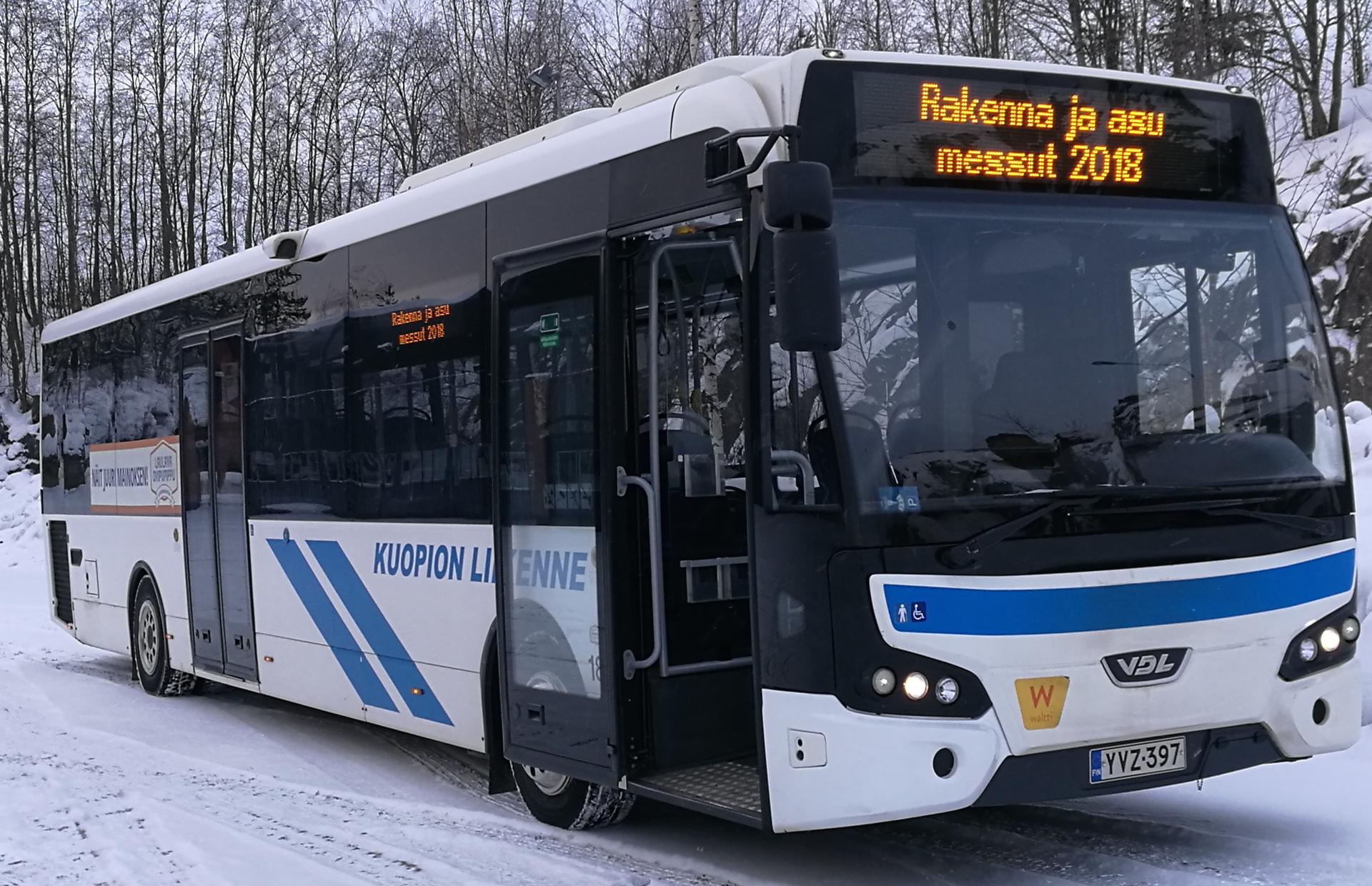 Ilmainen bussikuljetus