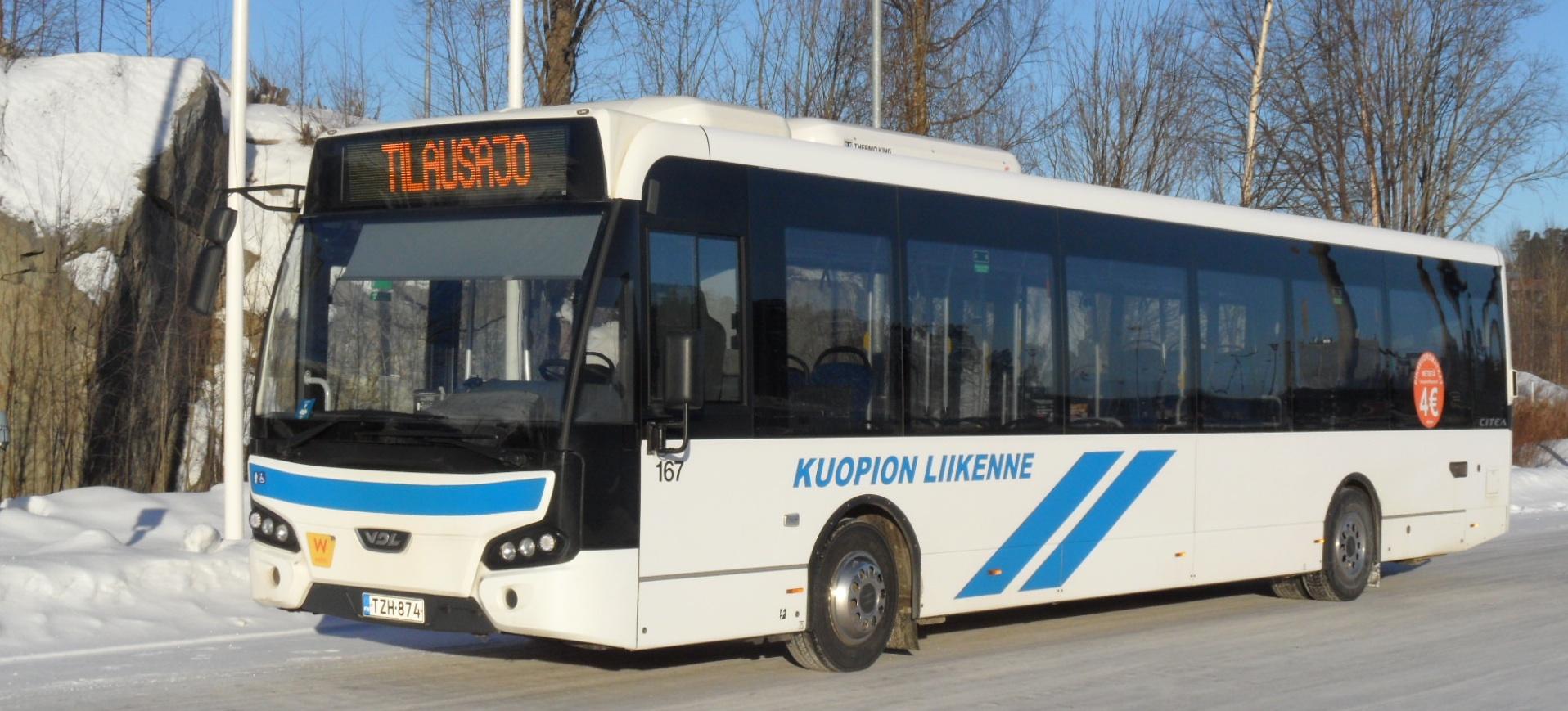Ilmainen bussikuljetus Maljalahdenkadulta
